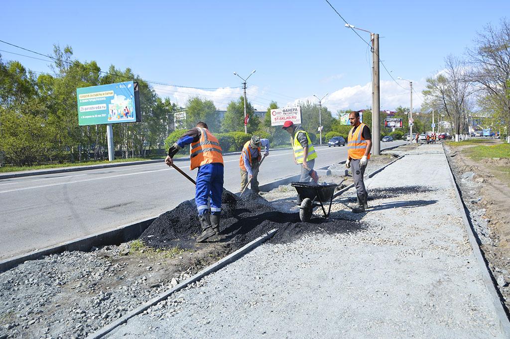 В Находке ремонт дорог идёт в плановом режиме