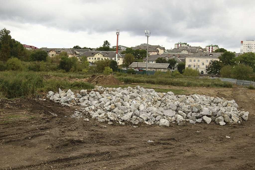 В Находке начато строительство ледовой арены