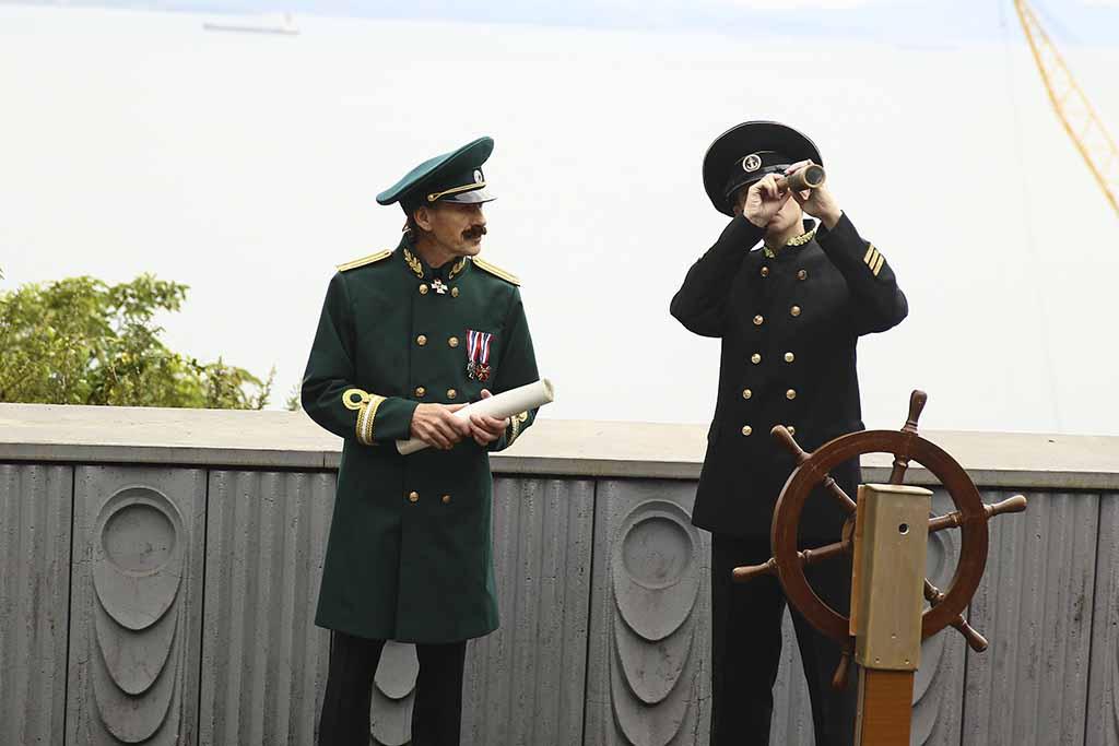 В Находке увековечили имя капитана Александра Болтина